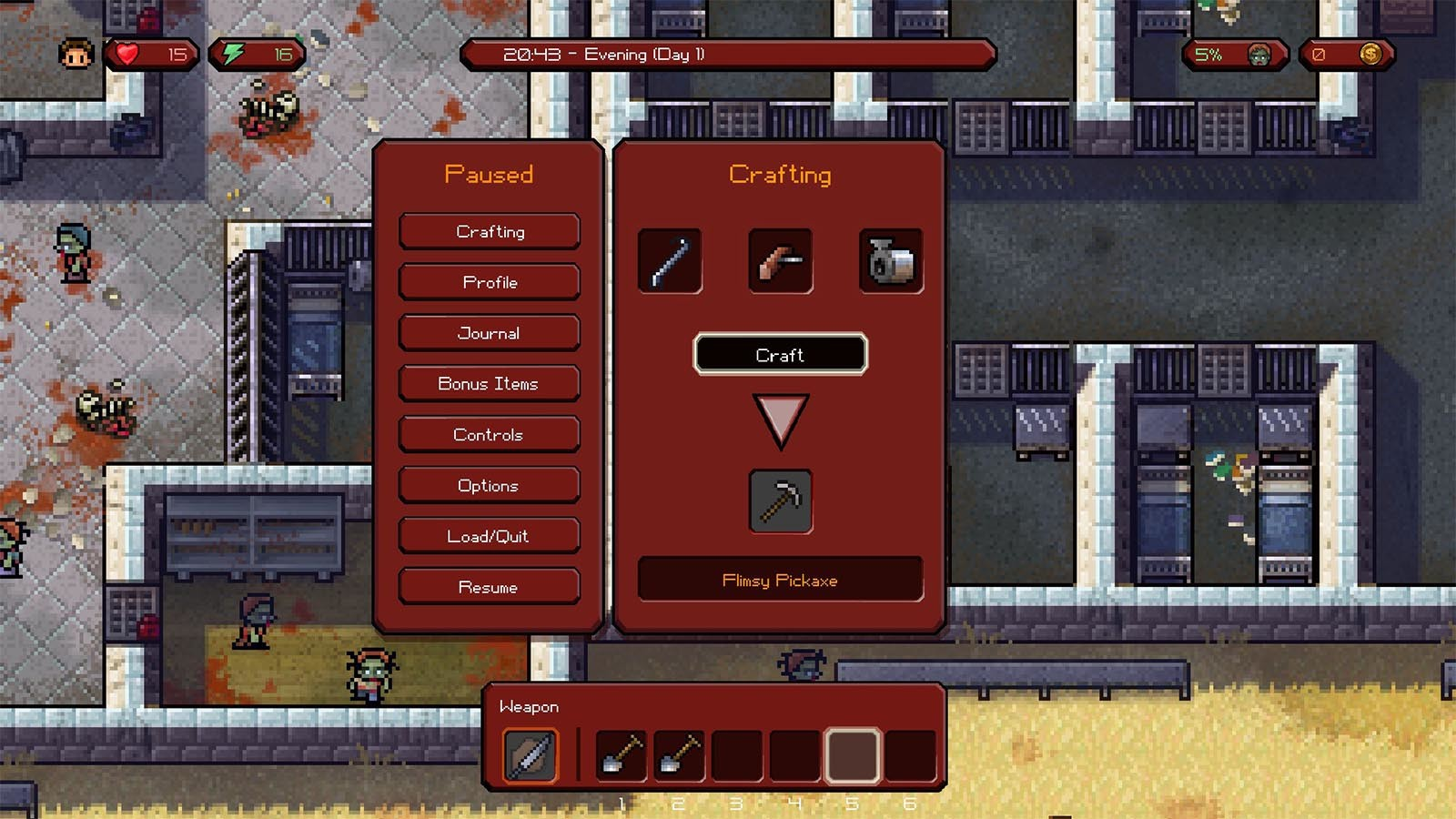 the escapist crafting guide