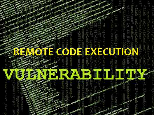 remote code execution in web application