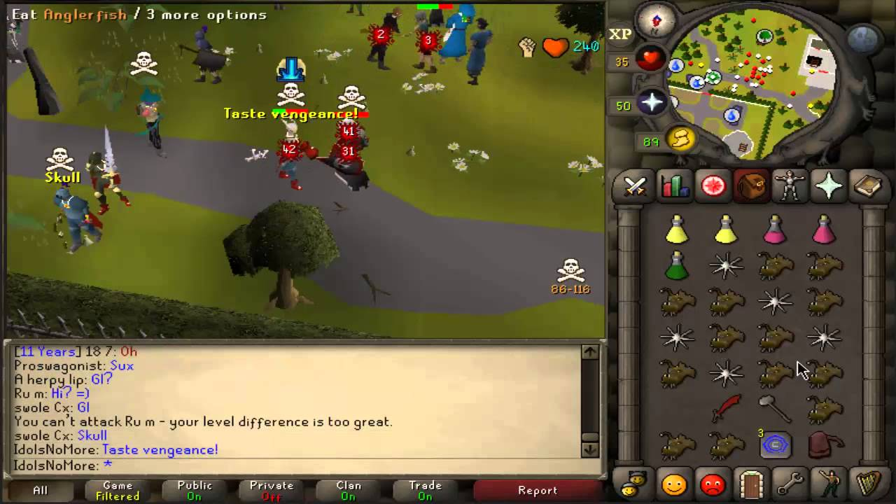 osrs 1 def pure chinning guide