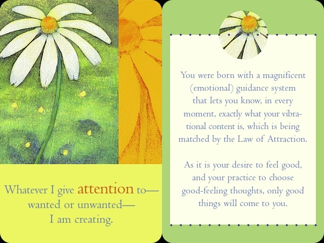 money and the law of attraction cards pdf