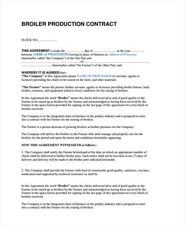 sample companies with contract manufacturing