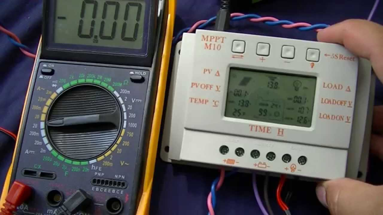solarland charge controller manual