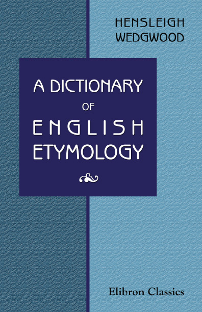 the oxford dictionary of english etymology